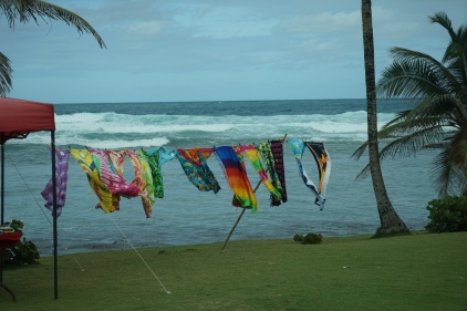 Towels for sale on Bathesba Beach